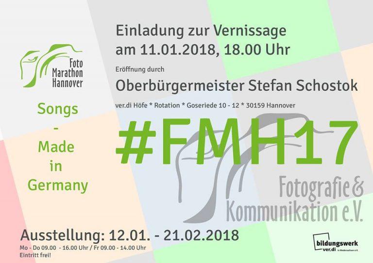 Fotomarathon Hannover 2017 – Einladung zu Vernissage und Ausstellung